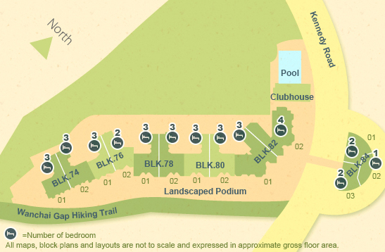floor plan - available units - bamboo grove